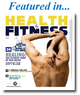 Featured in HEALTH & FITNESS MAGAZINE